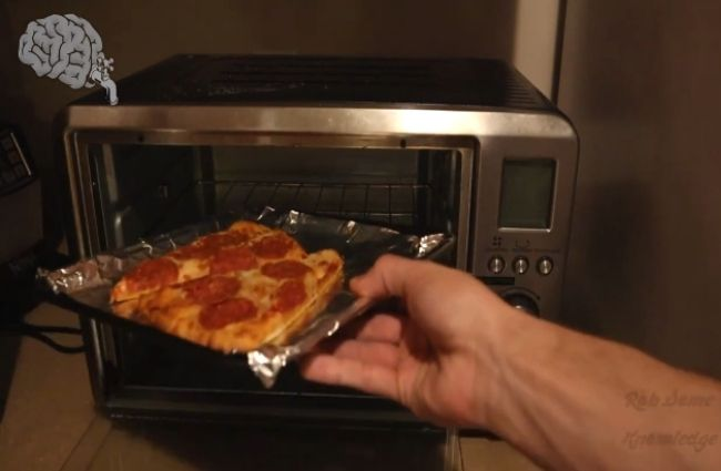 Reheat Pizza in the Toaster Oven