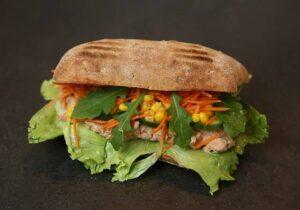 sandwich with salad